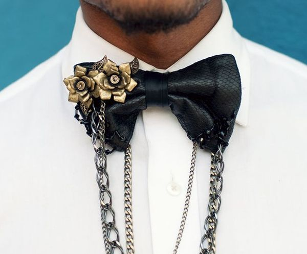 Bow Tie Chain Accessories