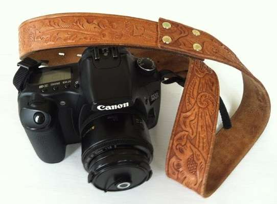 DIY Belted Camera Straps