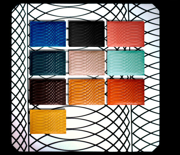 Technicolor Leather Clutches