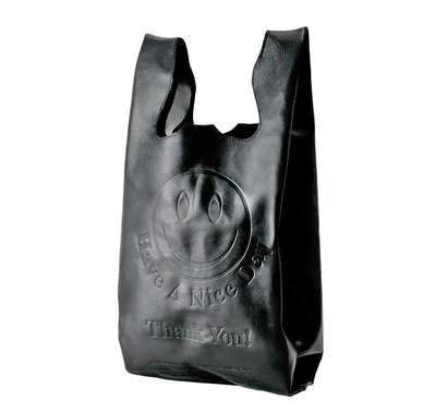 Leather Grocery Bags