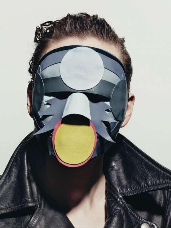 Minimalist Murder Masks