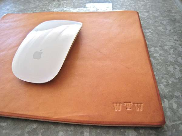 Leather Mousepad