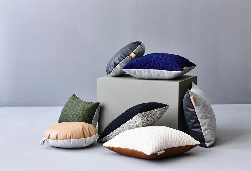 Dual-Textured Cushions