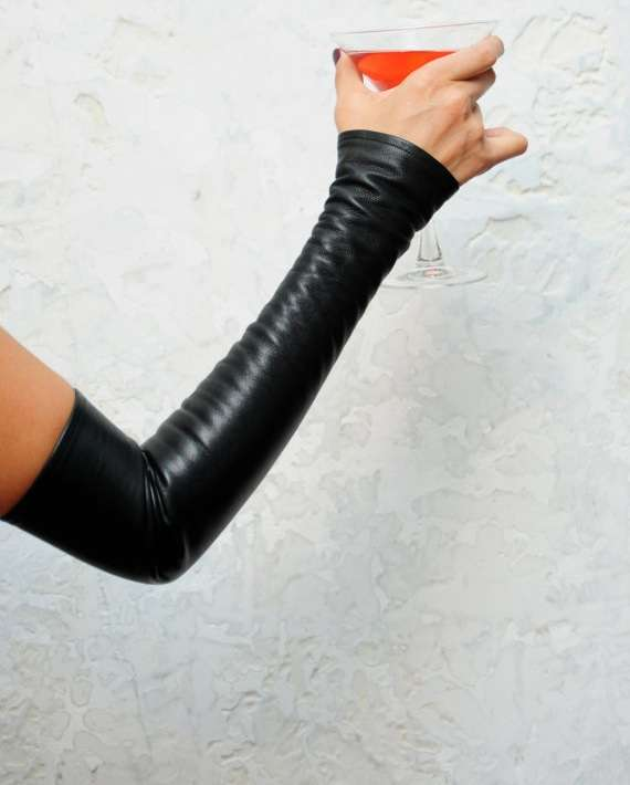 Fingerless Arm Gloves