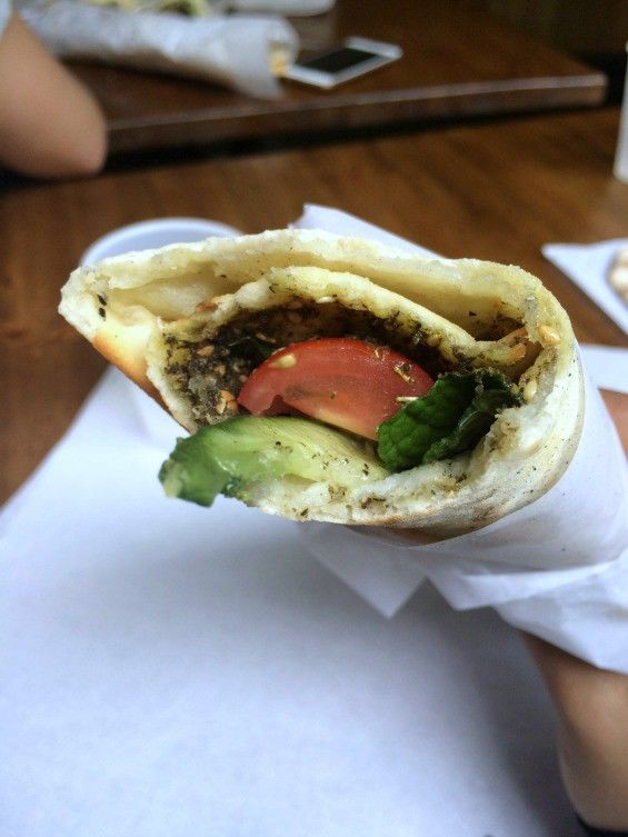 Cheesy Lebanese Wraps