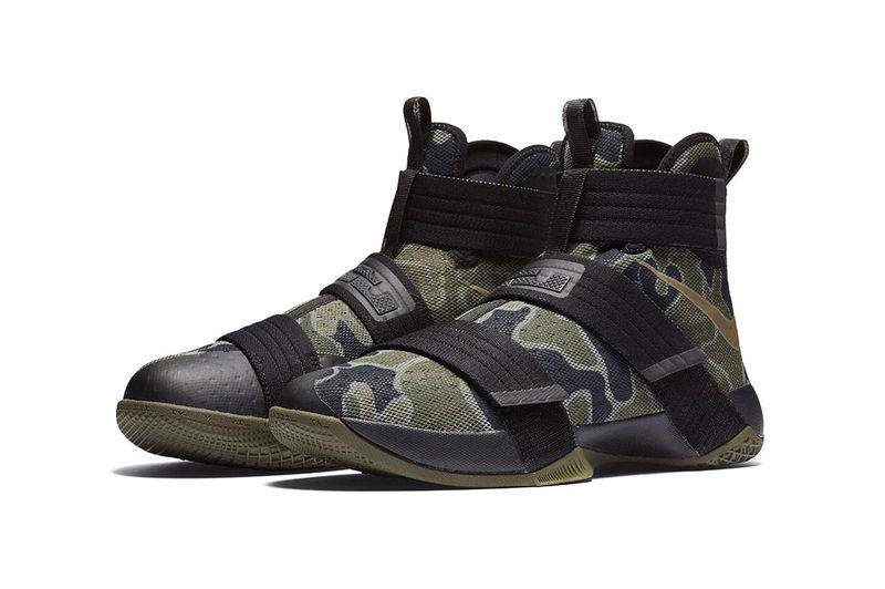 Reconfigured Military-Inspired Sneakers
