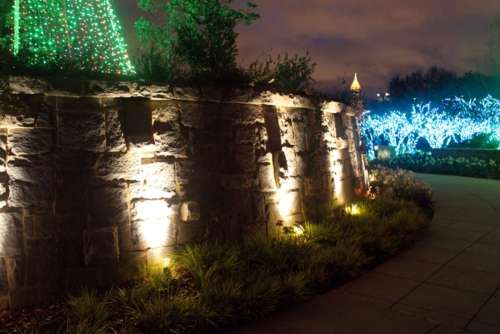 LED Garden Installations