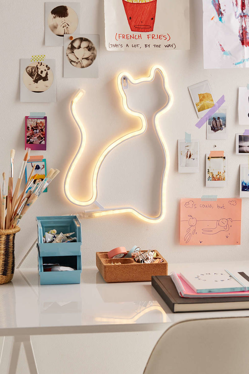Playful Cat Lighting