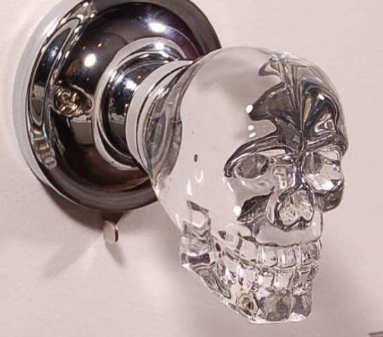 LED Crystal Skull