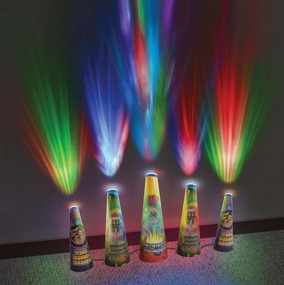 Pyrotechnic Toy Lights