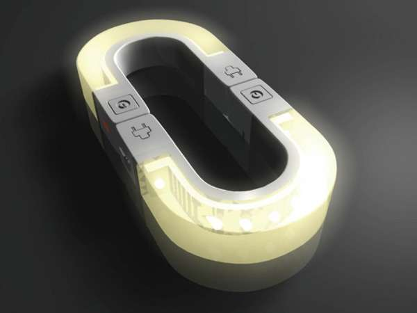led magnetic night light