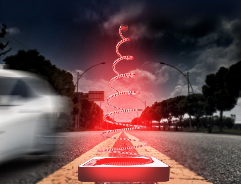 Dynamic Traffic Cones