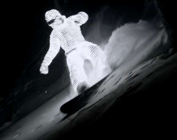 Light-Up Snowboard Suits