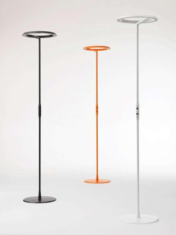 Futuristic Circular Lamps