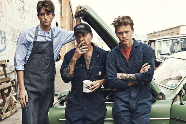 Laidback Mechanic Lookbooks