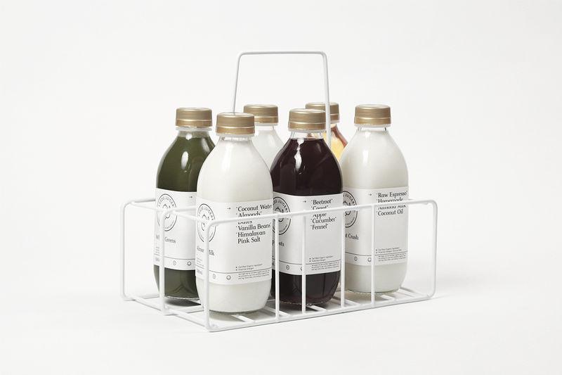 Elegant Bottle Branding