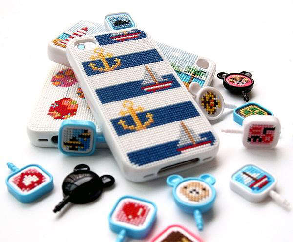 DIY Embroidered Phone Holders