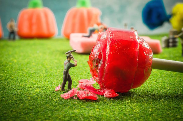 Candy Miner Dioramas