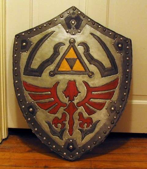 Life Sized Gamer Shields Legend Of Zelda Hylian Shield