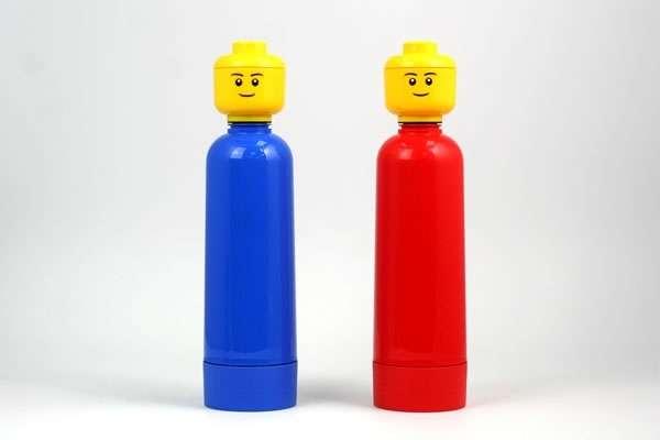 Iconic Building Block Bottles