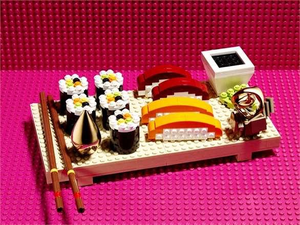 High-Fashion LEGO Editorials
