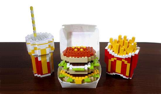 Toy Block McDonalds