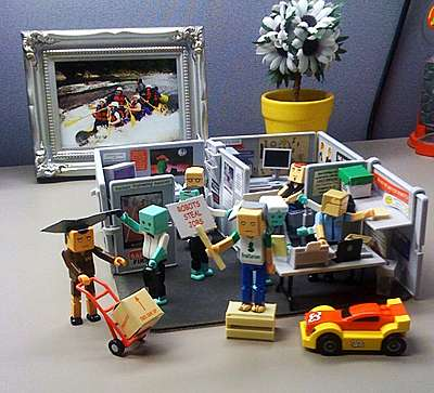 Lego Cubicles Mini Office Playset Lets You Scream Quot Lego