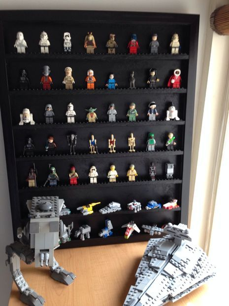 DIY LEGO Display Cases