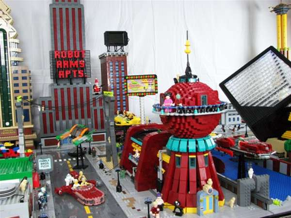 Toy Brick TV Replicas