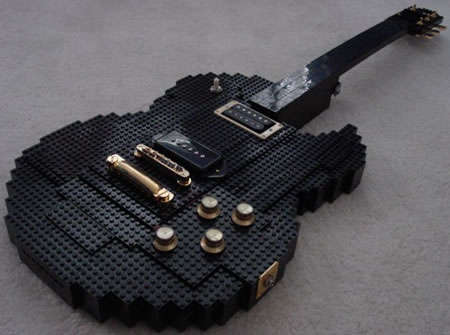 LEGO-Made Guitars