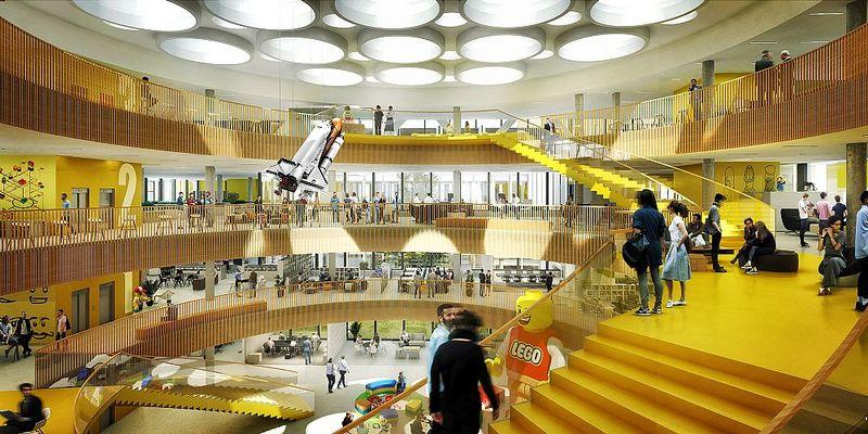 Redesigned LEGO Headquarters