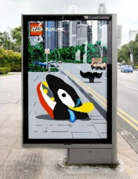 LEGO Outdoor Ads
