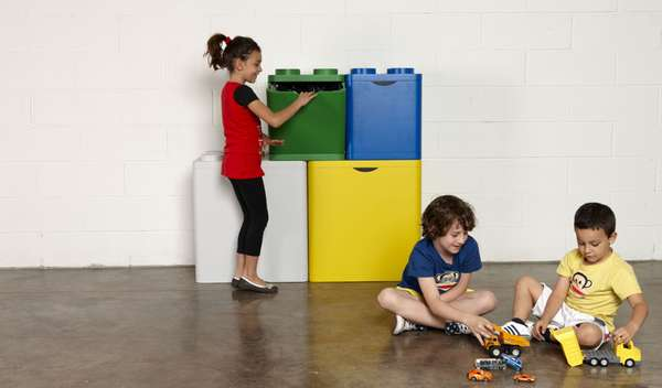 lego recycling containers