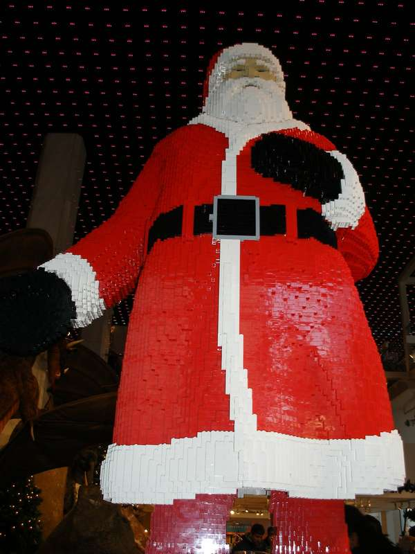 Father Christmas LEGO Sculptures