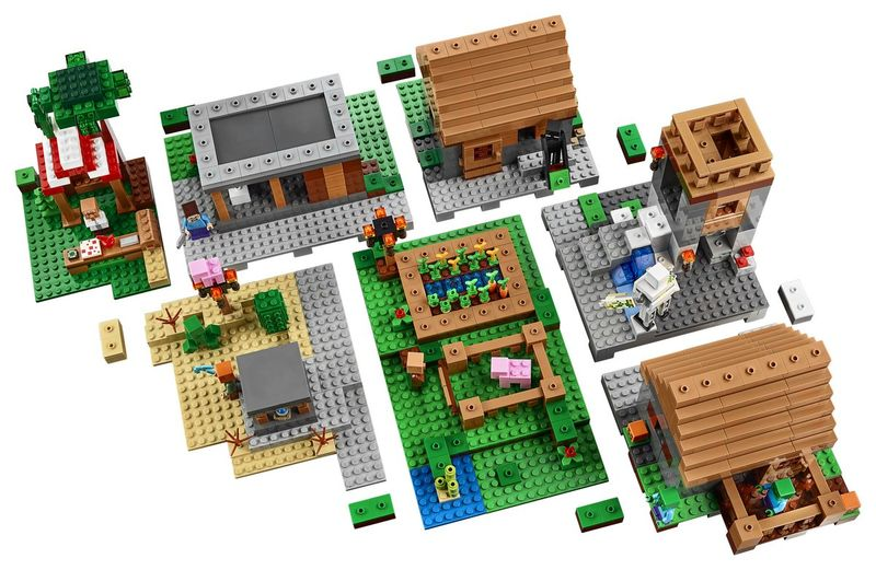 Virtual World Building Blocks
