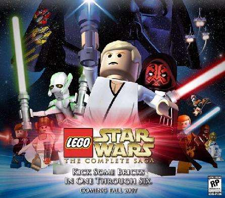 Lego Star Wars Video Game Will Include all Six Star Wars Films