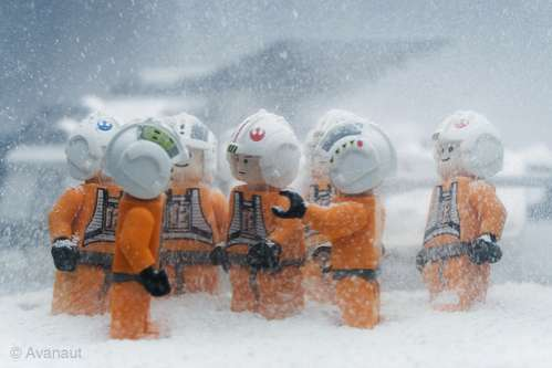 Holiday Star Wars Figurines