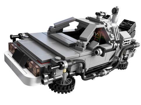 Retro LEGO Time Machines