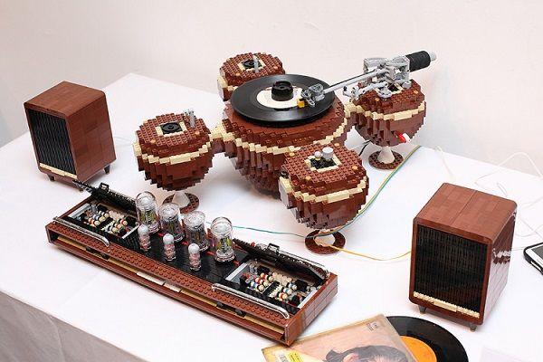 Brick Record Players