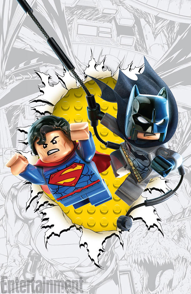 Superhero LEGO Covers