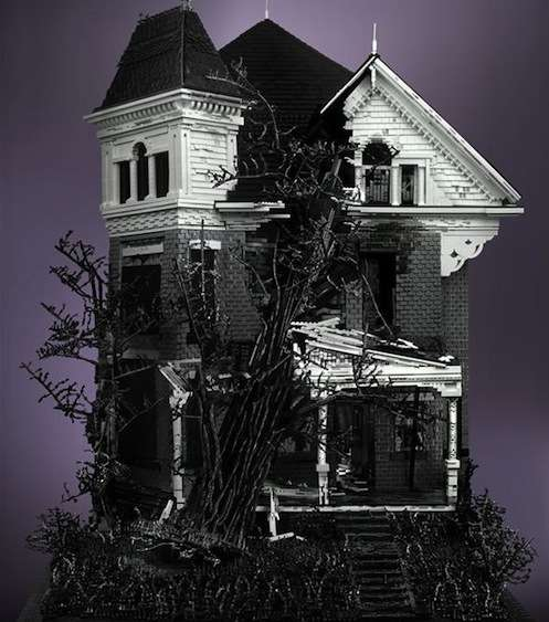 Building Block Haunted Homes
