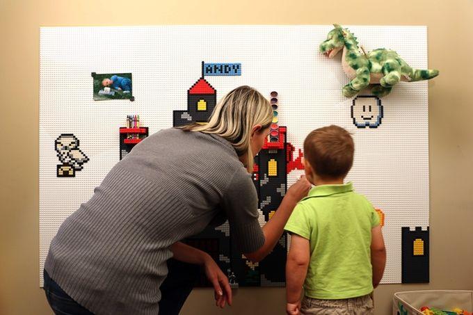 Costomizable LEGO Walls
