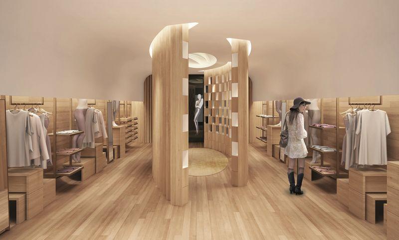 In-Store Legwear Galleries