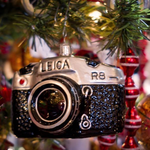 Shutterbug Christmas Ornaments : Leica Camera Ornament