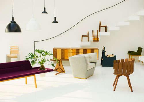 Eccentrically Shaped Furniture