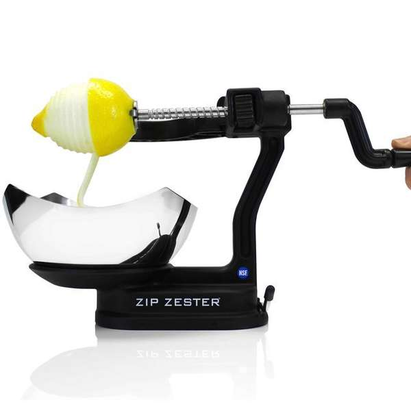 Time-Saving Zesting Machines