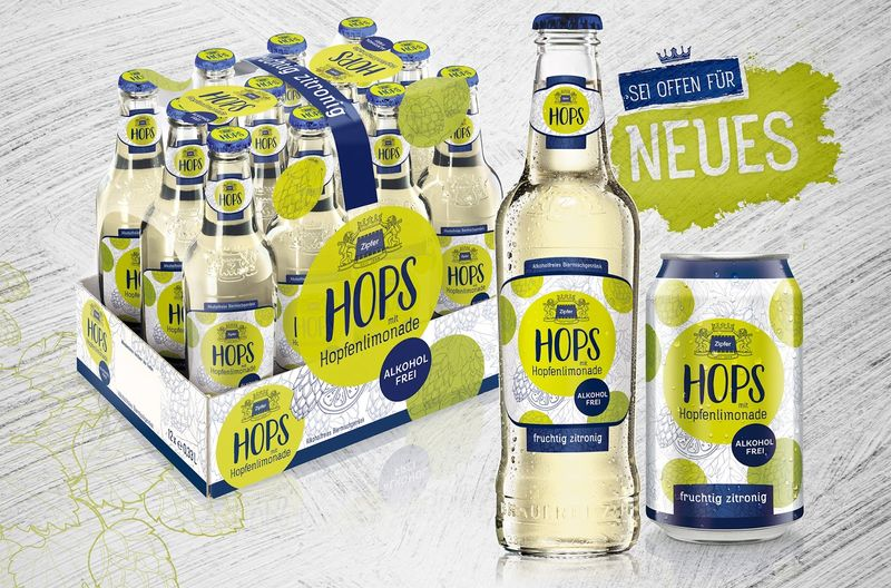 Hop-Infused Lemonades