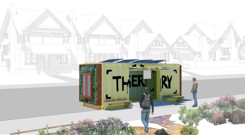 Shipping Container Lending Libraries
