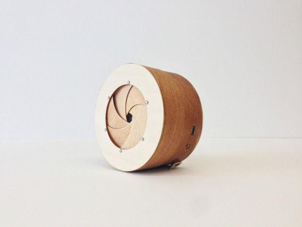 Lumber Lens Speakers