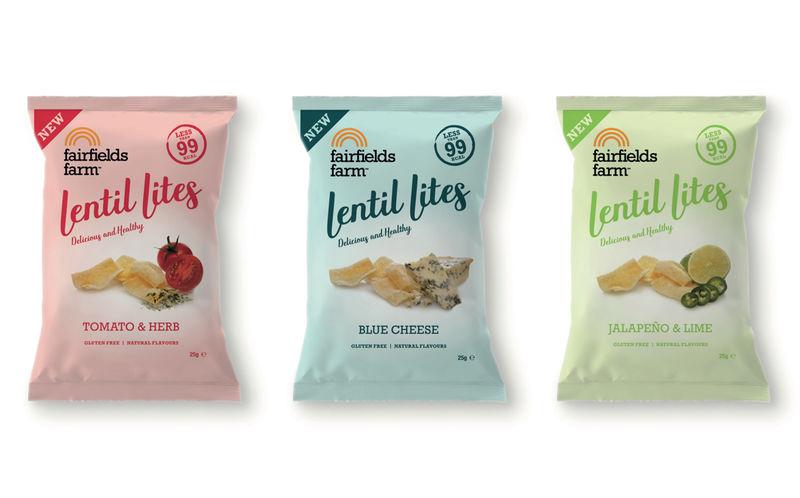 Low-Calorie Lentil Chips